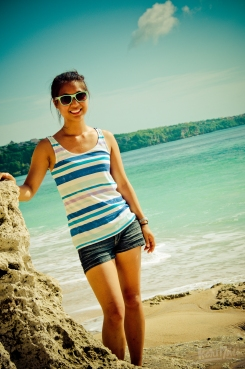 Secret beach in Bali